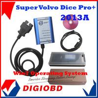 Newest Release Car Scanner tooll Super Volvo Dice Pro+ 2013A Volvo Diagnostic  Equipment Volvo Vide dice diagnostic tool