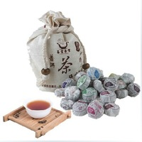 Free Shipping Onsale  460g/bag 100pcs  4 kinds flavor mini Puer/Puerh/Pu'er Tea Mini Cake Tea,Slimming Tea Hot Sale