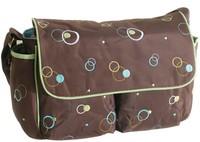 GEORGE print fashion shoulder portable diaper baby bag for fashion mummy bag