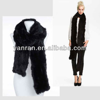 ~~Free Shipping~~Various Color Top Quality Factory Sale New Design Fashion Long Style Rabbit Fur Scarf