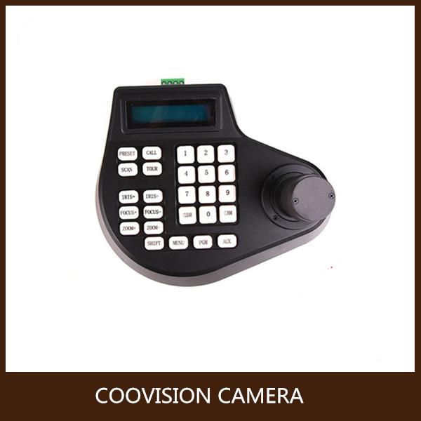 RS485 CCTV Keyboard Controller LCD Display for PTZ camera(China (Mainland))