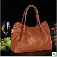 New arrival women's handbag, leather shoulder bag women,genuine leather bag, free shipping,1pce wholesale.