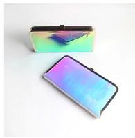 Super laser wallets hard box handbag hardness shoulder bag 4 color dinner bag