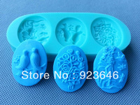 Free shipping Bell-shaped mold silicone mold Christmas tree, candy, chocolate, ice cream, craft