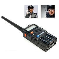 New Portable BAOFENG UV-5R 136-174/400-480Mhz Dual Band UHF/VHF Radio Interphone