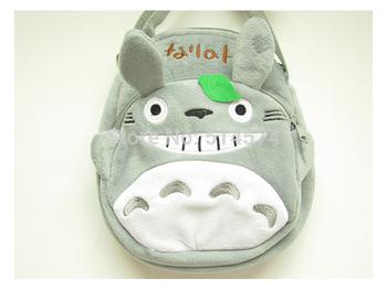 "13"" Totoro Plush Toys Bags, Children School Back packStuffed Plush Backpack Bags School Bag"