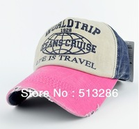 Free shipping 1pcs Korea version fashion of choice for Men's and women's hat baseball cap edge grinding do old