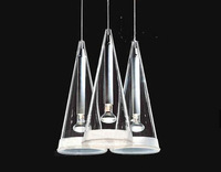 Hot sales Modern brief single-head fucsia pendant light wind chimes restaurant lamp bar lamps dining room free shipping