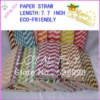 Chevron Printed Paper Straws Wholesale 4000 peice Drinking Paper Straws  Free Ship via DHL/FEDEX/EMS