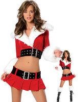 santa claus costume Sexy Costumes Women Wholesale & Retail,Christmas Pleasure Costume LC7157