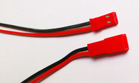 JST  wire   Female /Male  L=100MM  20AWG  silicone wire   Black red color
