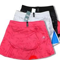 100%cotton sport dress 2014 summer Korean fashion women tennis dress casual sport skirts free shipping,