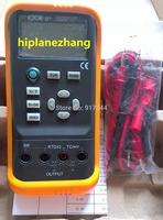 Thermocouple RTD Temperature Process Calibrator R S K E J T B N Pt100 Cu50 Simulator VC01