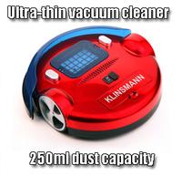Fully-automatic intelligent robot vacuum cleaner lounged vacuum cleaner ultra-thin vacuum cleaner 250ml dust capacity