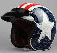 TORC top quality Motorcycle helmet chopper helmet DOT ECE approved jet helmet