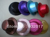 Multi colors Mini Top Hat Fascinator base girls 50pcs/lot Free shipping