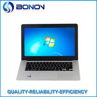 14.1'' Ultra Thin Laptop With Intel Atom D2500 1.86Ghz Dual Core 4GB DDR3 RAM 250GB HDD WIN7 OS WIFI Webcam HDMI