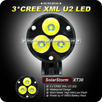 1Set SolarStorm XT30 CREE XM-L 3XU2 LED intelligent Power Indicate 4 Modes Bike Bicycle Light+4*18650 Battery Pack+Charger
