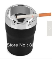 DHL free  shipping  36C3-1 Simple stylish large caliber car ashtray / Car ashtray / car ashtray black