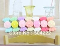 100pcs big mixed colors kawaii polka dots Resin candy bow  Cabochons (31mm) Cell phone decor, hair pin, rings DIY