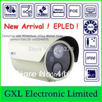 GXL,1.3 Megapixel HD IP Camera,720P, POE, Array IR LED Lamp,1 EPLED, 0Lux,Outdoor Waterproof Security Camera CS5720IB-PWL-I1MH