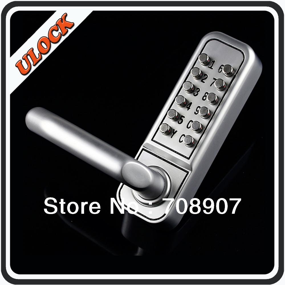 Mechanical lock_Keyless Lock_PIN Code Lock_Newest Generation_NO Need to Open Lock Body for Changing PIN Code(China (Mainland))