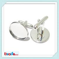 Beadsnice ID8896 cufflink accessories cufflinks for mens French Cufflinks Backs with uique 16mm cufflink blanks