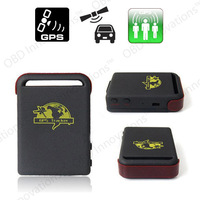 TK102 Real Time Mini GPS GSM GPRS Tracker with Geo-fencing and SOS Button