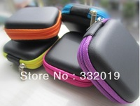 Free shipping  Case Bag For Earphone Headphone Earbuds SD Card High Quality Wholesale drop shipping