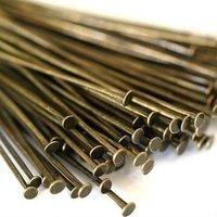 Nickel Free,DIYJewelry Findings-35mm Bronze Headpin