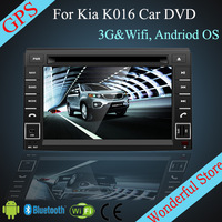 7'' Android Car DVD for  KIA SORENTO 2010-2012 CP-K016 with GPS Navigation 3G Wifi Hotspot RDS Analong TV bluetooth