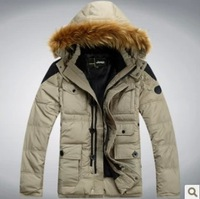 Holiday Sale Free shipping .Breathable soft shell coat . new outdoor man High quality .98% Down jacket