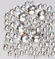 Super Shiny 1440p SS6 2mm  Crystal non-hotfix Clear Nail Art Rhinestones for Nails 3D Nail Art Decoration Flatback Rhinestones