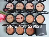 Drop shipping Makeup Face Powder 1pcs New fix powder plus foundation fond de teint powder 15g (NC)