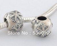 Fj171 925 pure silver jewelry diy beads fashion bead silver beads