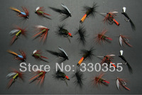72Pcs Different Types Dry Wet Assortments Trout Fly Fishing Flies Lures #041