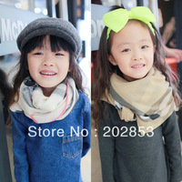 Yoyo - child plaid cape scarf parent-child Wraps Free Shipping