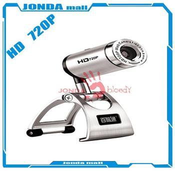 Aoni D881 HD720P HD Webcam 60 FPS Web Cam Laptop Cameras HD Lens Built-in Microphone. Night Vision Function Skype webcamera