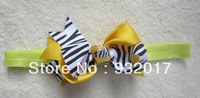 Free Shipping 8Colors Infant baby Kids girls chunky bow headband