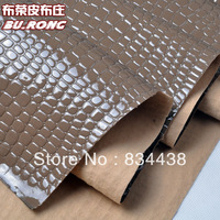 Hot Sale Free shipping Repousse pattern PU Leather  Sold BY YARD /faux leather fabric/glitter fabric/CAR SEATS Material
