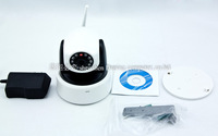 100% Hot Sales Wireless Wifi Web IP Camera 1280*720P Camera H.264 Format IR Cut SD card Slot