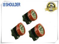 3pcs/lot led cordless mining cap lamp New hengda LD-4625 led coal mining lights headlight Free Shipping