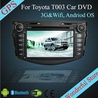 For TOYOTA RAV4 2006-2012 7'' Android Car DVD Player For TOYOTA CP-T003 with 3G Wifi Hotspot RDS Analong TV Bluetooth