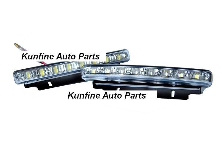 Free shipping! NEW !2*8PCS LED Auto LED Daytime Running light +18months warranty(China (Mainland))
