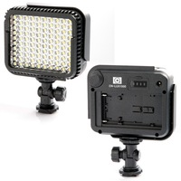 Steadycam Stabilizer free Shipping Cn-lux1000 100 Leds Led Video Light Photo Lamp for Camera Camcorder 5600k / 3200k 30200167