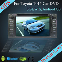 For TOYOTA Terios 2006-2012 6.2'' Android Car DVD Player For TOYOTA CP-T015-22 with 3G Wifi Hotspot RDS Analong TV Bluetooth