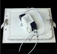 12W led panel light Free shipping DHL/FEDEX10pcs/lot new Ultra thin Downlight L170*W170mm AC90-250V