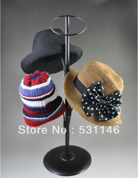 Metal Hat Display Stand/Hanging hat rack /Multiple hat rack display(China (Mainland))