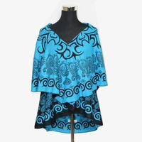 Womens Warm Wool Poncho Coat National Trend scarf Irregular Geometry Cardigan Fashion Gypsy Gipsy New Style Wrap Scarves WO-106