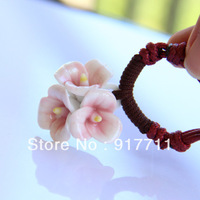 Ceramic Necklace Pendants Jingdezhen Handmade Flower New 2013 Fashion Vintage Jewelry Accessories Wholesale Multi-layer Chain